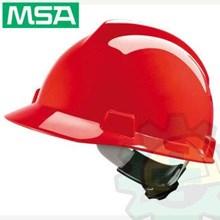 Helm MSA V-Gard Original + Inner Fastrack Original Murah Berkualitas HUB atau WA 081280588834