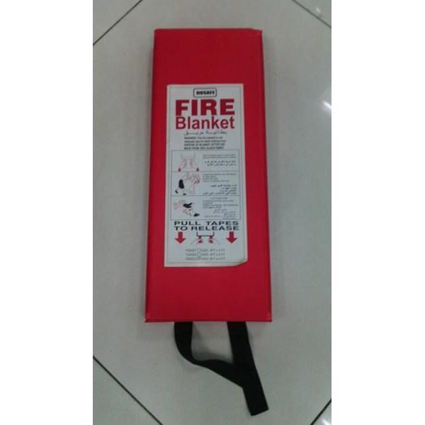 Kain Pelindung Api Dusafe 1.8 X 1.8 Meter Fire Blanket Murah Berkualitas HUb atau WA 081280588834