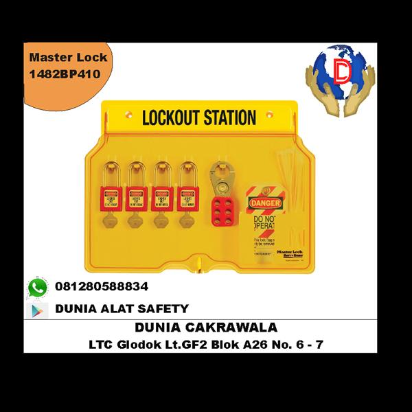 Master Lock 1482BP410 MUrah Berkualitas HUB atau WA 081280588834