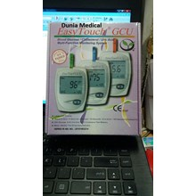 Easy Touch Gcu Alat Tes Gula Darah Test Chek Kolesterol Cek Asam Urat