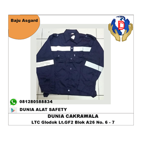 Dari Seragam Kerja Safety Asgard Baju Kerja Asgard bahan Japan Drill / Pakaian Safety murah berkualitas HUB atau WA 081280588834 0