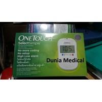Jual Alat Cek Gula Darah One Touch Select Simple murah berkualitas HUB atau WZ 081280588834