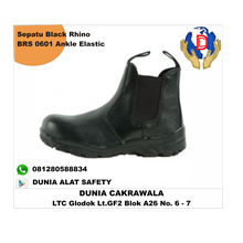 Safety Shoes Black Rhino BRS 0601 Ankle Elastic mu