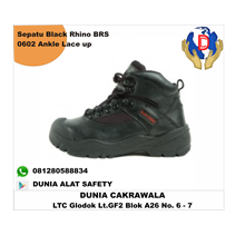 Safety Shoes Shoes BLACK RHINO BRS 0602 Ankle Lace-up murah berkualitas HUB atau WA 081280588834