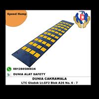 Speed Hump End Cap murah berkualitas HUB atau WA 0812580588834 speed bump 1