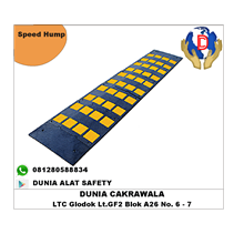 Speed Hump End Cap murah berkualitas HUB atau WA 0812580588834 speed bump
