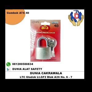 Gembok ATS 40 murah berkualitas HUB atau WA 081280588834