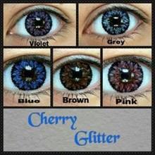 Softlens CHERRY GLITTER Soft Lens chery gliter