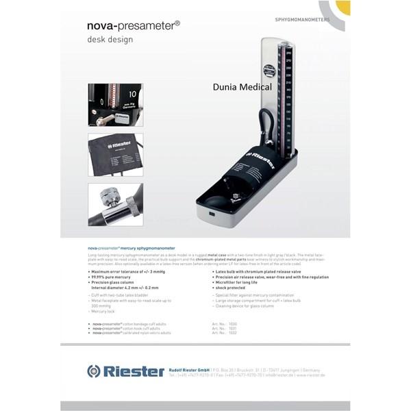 Tensimeter Air Raksa Riester Nova murah berkualitas HUB atau WA 081280588834