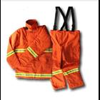 Coverall Nomex Warna Merah / Nomex Warna Orange HP 081280588834 1