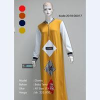 Jual Baju Gamis Kombinasi Tempel 2019-00017