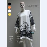 Baju Tunik Motif Bunga 2019-00002