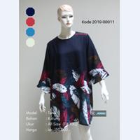 Baju Tunik Motif Daun 2019-00011