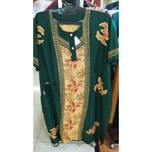 Green Flower Patterned negligee