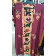 Purple Flower Patterned negligee