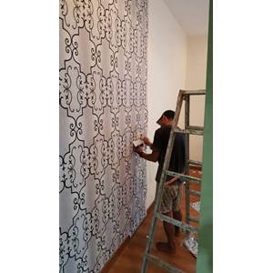 jasa pasang wallpaper By Jaya Interior
