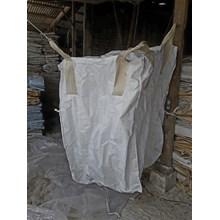 Jumbo bag bekas uk 90 x 120 putih polos atas bawah corong kondisi bersih