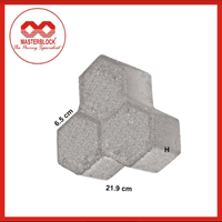 Paving Tri Hex Masterblock