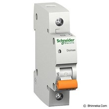 MCB Domae 1 kutub Schneider (2 ampere sampai 63 ampere)