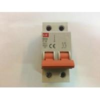 MCB 2P 16A merk LS