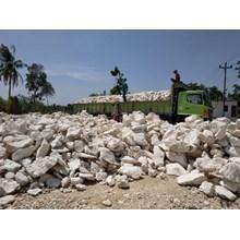 Jual Batu Kapur Limestone Bongkahan sampai Granul Dari Rembang