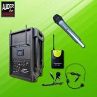 Jual Portabel Music Player Amplifiers Speaker Wireless Auderpro Ap-1282Pa-B (Usb Mp3 Record)