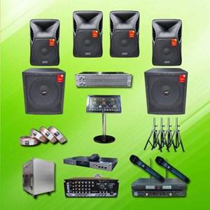 Dari Amplifiers Sound System Paket Karaoke A2 : Mixer + Speaker Auderpro 12 Inch + Subwoofer 15 Inch + Hdd 0