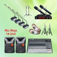 Paket Sound System Meeting Rapat Berkualitas Bagus 1