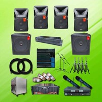 Amplifier Sound System Paket Meeting Rapat Besar 2 Pro X-Class 1