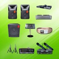 Jual Karaoke Player Sound System Paket A4 : Mixer + Speaker Auderpro 15 Inch + Subwoofer 18 Inch + Hdd