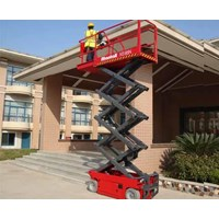 jual scissor lift second