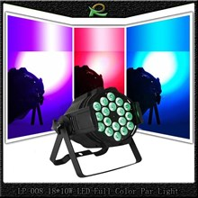 Lampu PAR led stage lighting full color 18*10W LP008