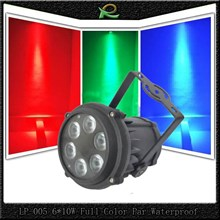Lampu par lighting panggung par waterproof mini 6*10W full color LP005
