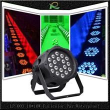 Lampu par waterproof full color 18*10W LP003