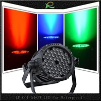 Jual Lampu PAR Waterproof 54 x 3W RGB LP001