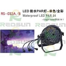 Lampu Par 54 x 3W waterproof
