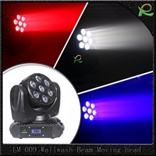 Lampu beam Moving Head full color 7 x 10W LM009