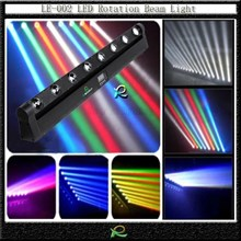 Lampu gantung led rotasi beam light scan bar 8*10W RGBW LE002