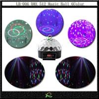 Lampu led disco DMX magic ball light LB006 1