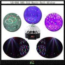 Lampu led disco DMX magic ball light LB006