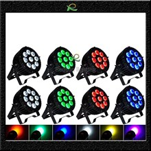 Lampu panggung par outdoor 9*10W full color LP004
