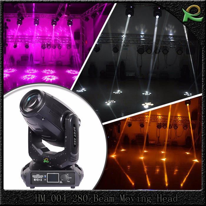 Jual Lampu Beam Pattern Moving Head Light 280 Watt HM004