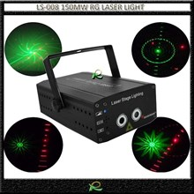 Lampu laser show party light RG LS008