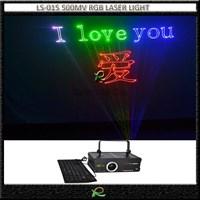 Lampu Laser Ketik RGB 500MW menulis keyboard LS015