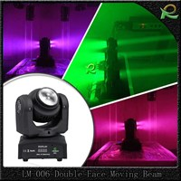 Jual Lampu Beam Double Face Full Color Moving Head Lighting Mini LM006 2