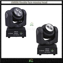 Lampu Beam Double Face Full Color Moving Head Lighting Mini LM006