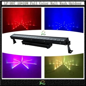 Lampu par bar led 18*10W penuh warna waterproof LP007