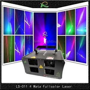 Lampu laser disko party pub 4 outlet  Specs LS011