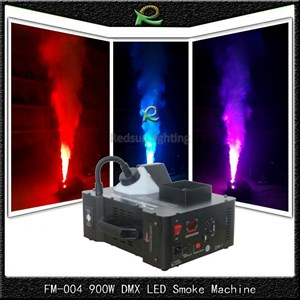Mesin asap led smoke machine 900W DMX remot control FM004