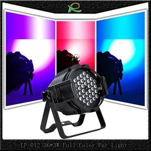 Lampu sorot panggung disco par 36*3W warna warni LP012